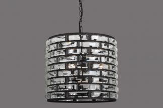 Zarzo cilinder LB029-4 industrial dark -clear kristal