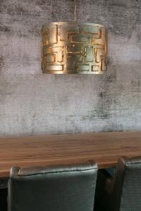 Pablo cilinder Ø55cm zilver-web