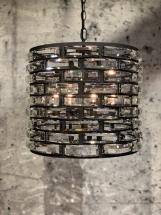 Zarzo LB029-4 industrial dark + glas